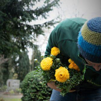 Friedhof Bepflanzung